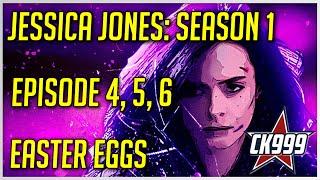 Marvel's Jessica Jones Season 1 Episode 4, 5, 6: Hidden Easter Eggs & Secrets