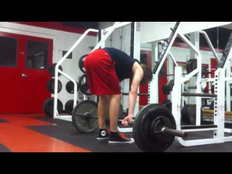 255lb Deadlift Bad Form Youtube