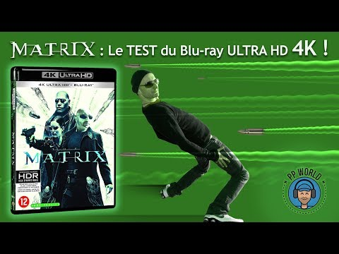 MATRIX : TEST du Blu-ray Ultra HD/4K (HDR Dolby Vision) !