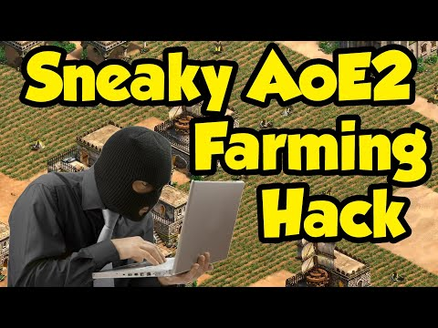 Sneaky AoE2 Farming Hack