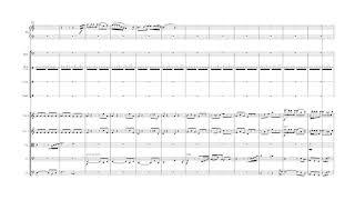 相川結月 交響曲第三番 第四楽章 (2017-2018) ピアノ以下の楽譜のみ 編...