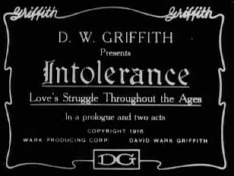 David Wark Griffith - Intolerance (1916) w/ Lillian Gish Full Movie