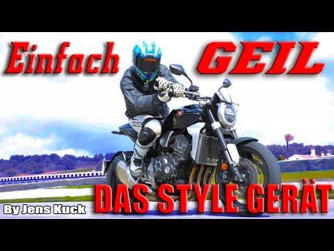 Honda setzt eins drauf! Das Meisterwerk! Honda CB1000R | Jens Kuck
