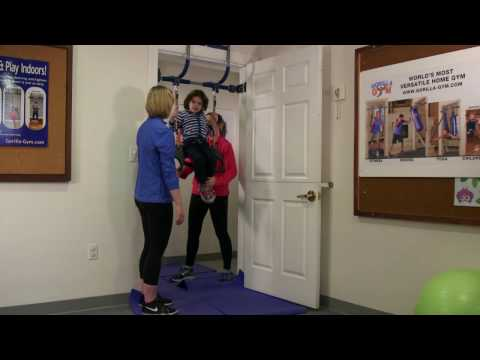 Gorilla Gym Preschool Exercises: Trapeze with Zane