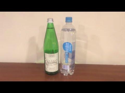 Jon Drinks Water #5076 Giant Eagle Italian Sparkling Mineral Water VS Smart Water Sparkling