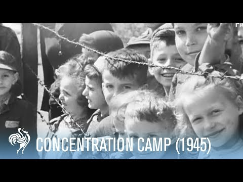 Belsen Concentration Camp's Liberation (1945)  WARNING: DISTRESSING FOOTAGE