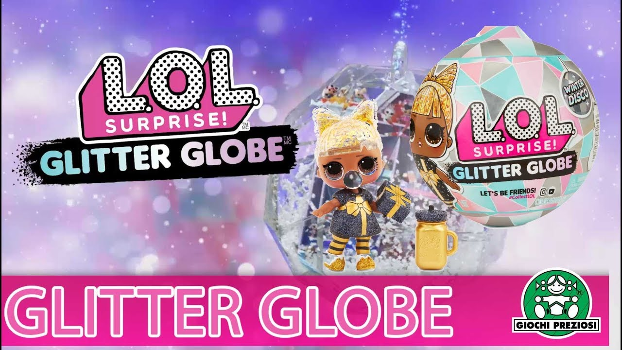 Giochi Preziosi Hellas |L.O.L. Surprise Glitter Globe Winter Disco