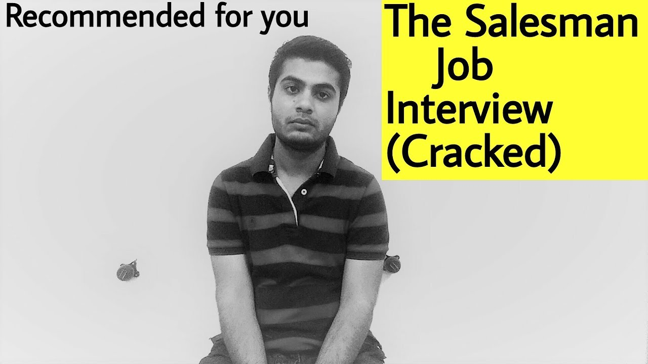 my interview with a salesperson Tell me about yourself how to answer when the interviewer says this at the beginning of the interview this is the question that is most often asked at interviews.