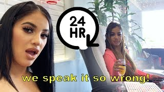 SPEAKING SPANISH FOR 24 HOURS **HILARIOUS**