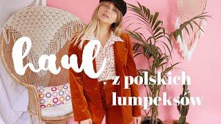 Haul z polskich lumpeksów ♡