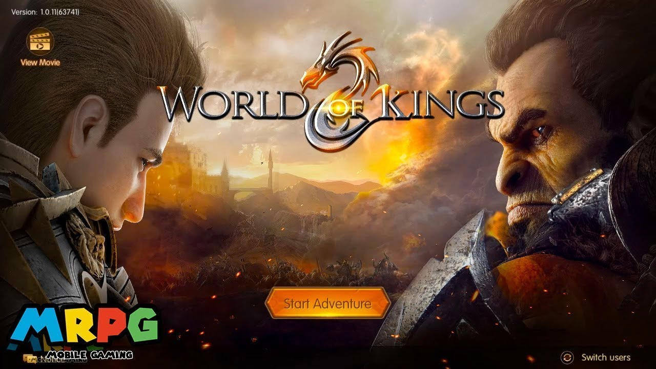 World Of Kings Mmorpg Mobile New Game Android Phone