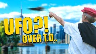 UFO over Toronto, Blue Jays to blame. 2015