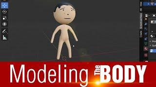03 Modeling the Body | मेक जोक ऑफ़ की तरह एनीमेशन सीखें