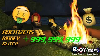 ROBLOX - ROCITIZENS MONEY GLITCH [NEW] [EASY] [PATCHED]