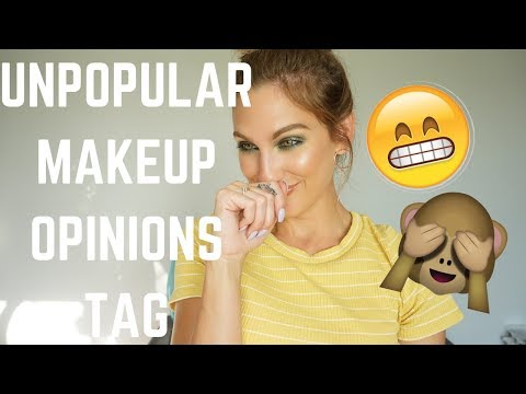 UNPOPULAR OPINIONS MAKEUP TAG │ CHANNELS I DON'T WATCH, COLLABS I DIDN'T LOVE + MORE