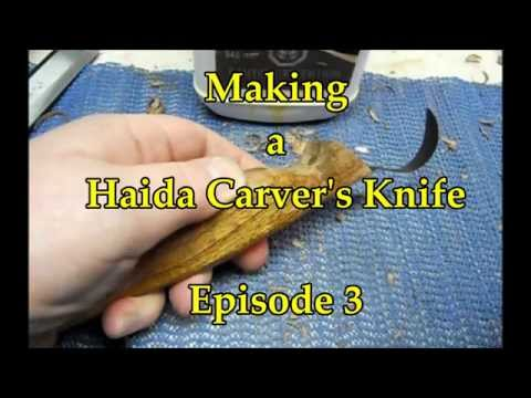 Haida Carving Knife Handle