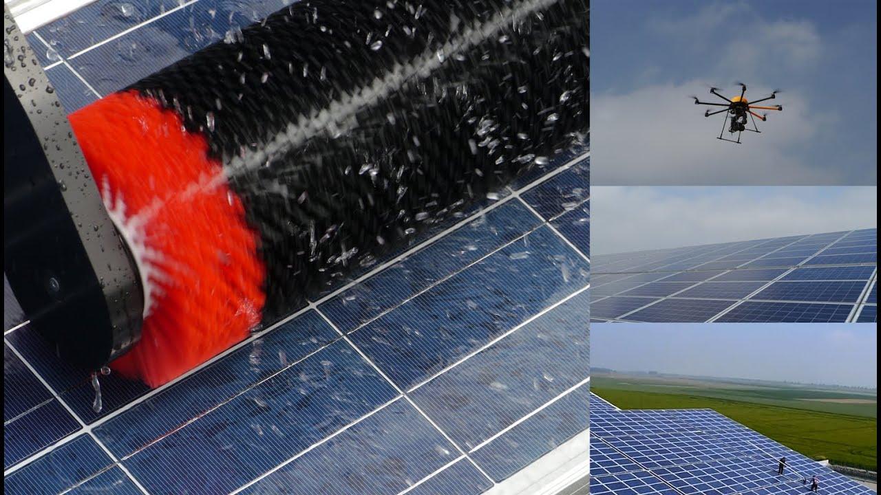 Solaranlagen Köln 05 2014 weiteres reinigungsgerät für solarmodule im einsatz aachen