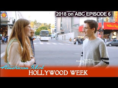 American Idol 2018 Hollywood Week Round 1 Group 3 Catie Turner- Zach D'Onofrio