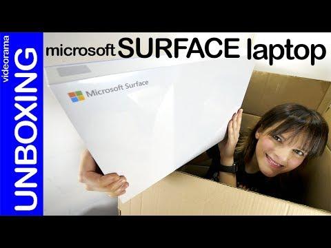 Microsoft Surface laptop unboxing -¿el portátil definitivo?-