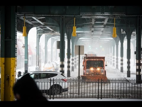 Mayor de Blasio Urges New Yorkers to Prepare for Nor'easter