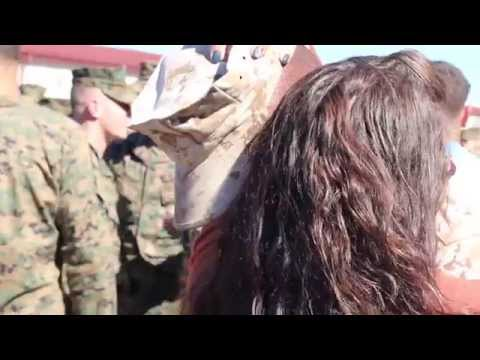 The Surprise - Wife surprises Marine husband during his return from year-long deployment from YouTube · Duration:  4 minutes 4 seconds