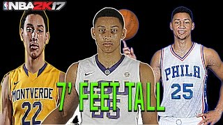 ben simmons is 7 feet tall will take over nba nba 2k17 gameplay