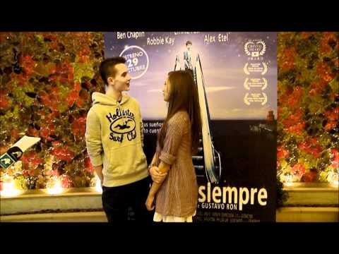 Alex Etel & Ella Purnel en Madrid !!!