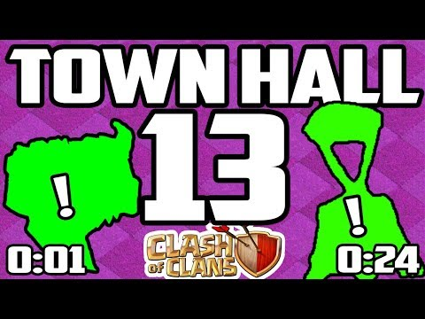 FINALLY! Town Hall 13 - Clash Of Clans BIGGEST Announcement! Yet!