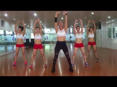 เต้นลดพุง ออกกำลังกาย 8 นาที ลดพุง Easy Cardio and Workout
