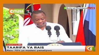 President Kenyatta's full speech