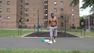 """Sean G"" - (10 Sets On Push Ups & Ab Wheel) - EAST ORANGE, NEW JERSEY - Fit Over 50"