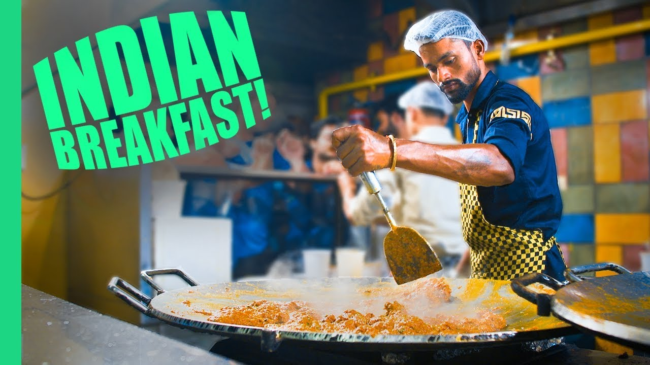 Best Breakfast in Delhi, India! STUPID Good Indian Street Food Tour in Old Delhi (and New Delhi)