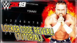 WWE 2K19 LOCKER CODE TUTORIAL! SECRET SUPERSTARS IN THE FUTURE?