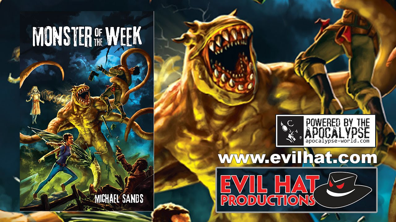 Game Geeks  259 Monster of the Week By Evil Hat Prod    YouTube Game Geeks  259 Monster of the Week By Evil Hat Prod