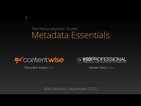 Personalization Toolkit: 5 Must-Have Metadata Capabilities Every Netflix Competitor Needs