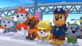 PAW Patrol Mighty Pups Save Adventure Bay - All Mighty Pups GO! - Nick Jr HD