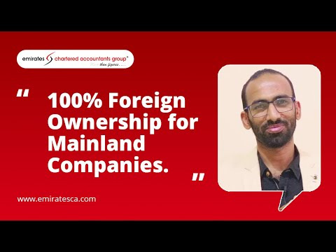 100% FOREIGN OWNERSHIP HAS STARTED IN THE UAE- JUNE 2021
