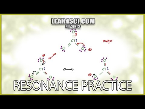 Resonance Structures Practice Problems in Organic Chemistry