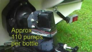 Bayliner 175 20hr Svc - Pt2 Gear Lube Change