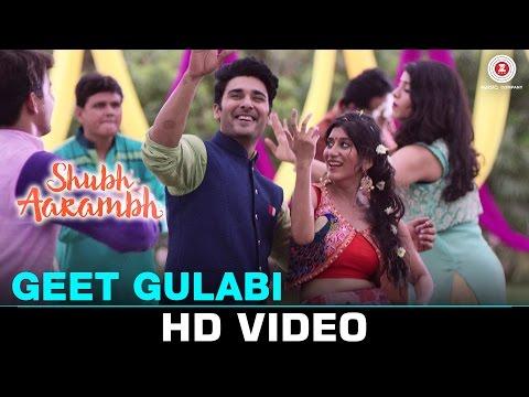 Geet Gulabi | Shubh Aarambh | Deeksha Joshi & Bharat Chawda | Divya Kumar & Palak Joshi