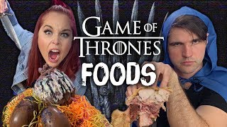 Food from Game of Thrones - Taste Test! (Cheat Day)