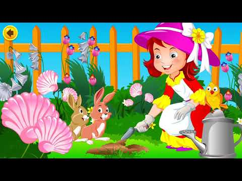 ABC songs, Mary Mary Quite Contrary with subtitle