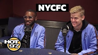 NYCFC Players Talk Red Bulls Rivalry, Championship Hopes & Growth Of Soccer In US