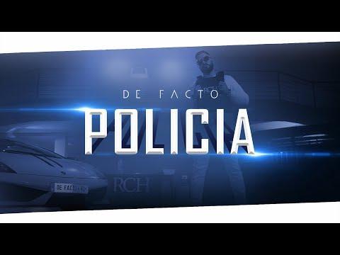 DE FACTO - POLICIA (Official 4K Video)