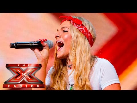 Thumbnail: Soul singer Louisa Johnson covers Who's Loving You | Auditions Week 1 | The X Factor UK 2015