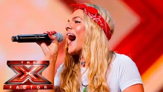 Soul singer Louisa Johnson covers Who's Loving You | Auditions Week 1 | The X Factor UK 2015 thumbnail