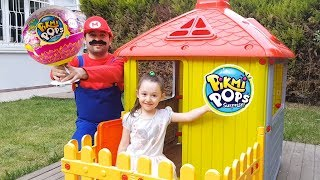 Story Pretend Play with Pikki Pops Eggs, Johny Johny Yes Papa Song