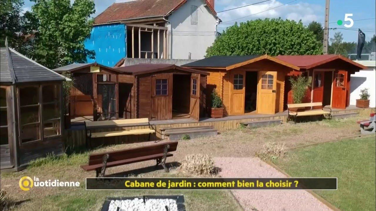 Cabane de jardin : comment bien la choisir ? - YouTube