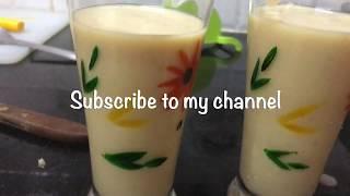 Apple Milkshake Recipe || How to make Apple Milkshake ||