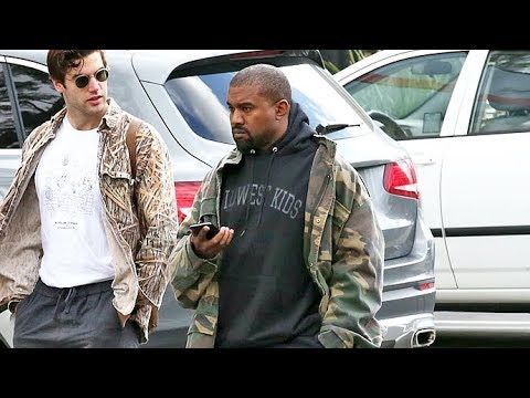 Kanye West Forgets To Change His Clothes Amid Latest Kardashian Scandal